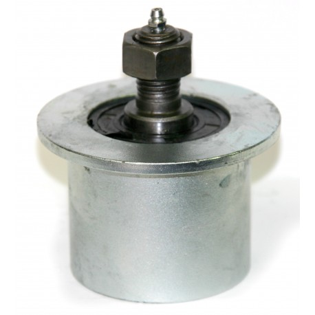 Rullo in Ghisa con guida diametro 80 x 35 x20mm